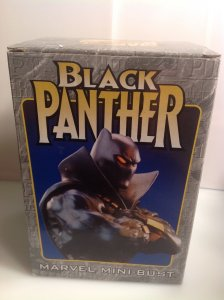 Marvel Bowen Designs Black Panther mini-bust MIB #2324/4000 Modern version 1999