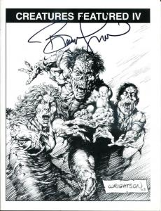 CREATURES FEATURED #4, VF/NM, Signed Bernie Wrightson, 1st, sc, 2003, Horror