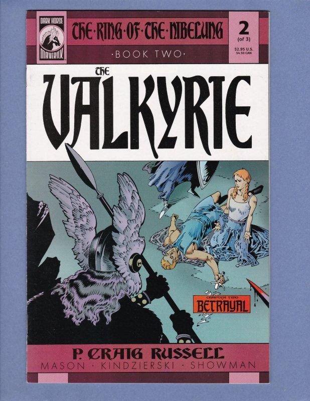 Lot of 9 Ring of the Nibelung Comics Valkyrie Siegfried Gotterdammerung