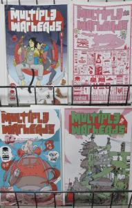 MULTIPLE WARHEADS: ALPHABET TO INFINITY (Image, 2012) #1-4 COMPLETE! VF-NM