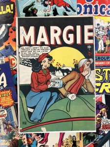Margie Comics #40 VG+ 4.5 ten cents GOLDEN AGE romance USA americana KURTZMAN