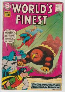 World's Finest #118 (Jan-61) VG/FN- Mid-Grade Superman, Batman, Robin