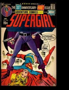 Lot Of 4 Adventure Comics DC Comic Books # 400 404 410 435 Supergirl Spectre NE3