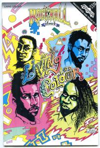 Rock N Roll Comics #23 1991-LIVING COLOUR