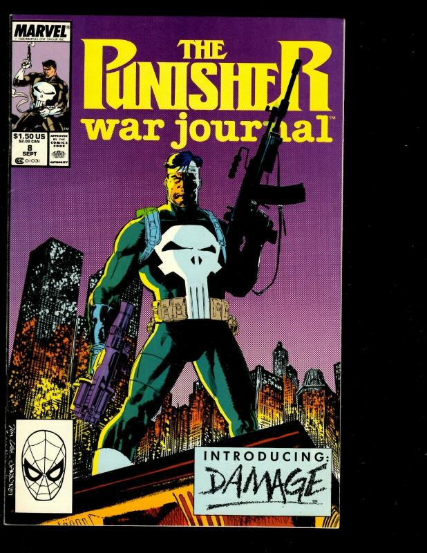 Lot of 14 Punisher Marvel Comic Books # 40 13 12 11 10 9 8 7 6 5 4 3 2 1 DS3