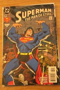 Superman the Man of Steel 31 NM