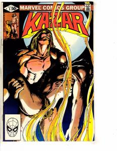 Lot Of 11 Ka-Zar Marvel Comic Books # 5 6 7 8 9 10 11 12 13 14 16 Zabu Tiger GJ3