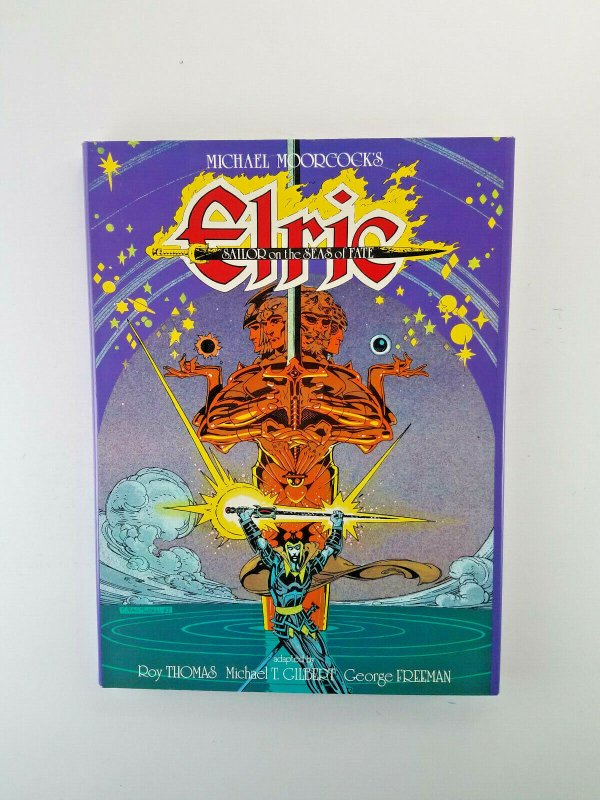 Elric : Sailor on The Seas Of Fate HC 3x Autographed Signed Number 61 of 1200 HG