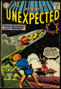 Tales of the Unexpected #72 1962- Space Ranger's Last Voyage VG-