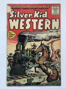 Silver Kid Western 5   (Detached Cover)