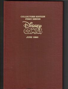Collector's Edition First Issues Disney Comics June 1990 Shrink Wrapped TP1