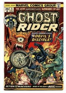 GHOST RIDER #8 1974-MARVEL-comic book vf+