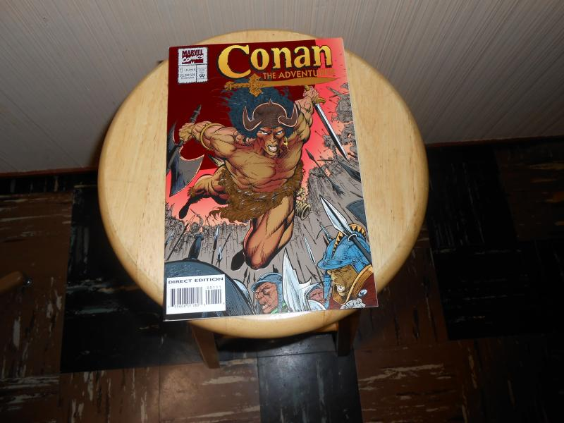 Conan the Adventurer (1994) #1 Jun 1994 Cover price $2.50 Marvel