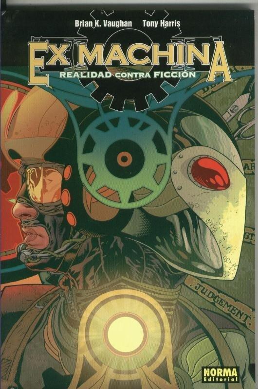 Ex Machina volumen 03: Realidad contra ficcion