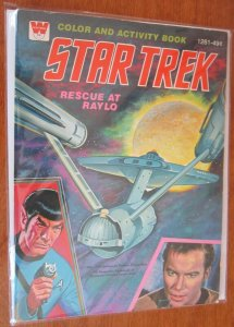 Star Trek coloring and activity book, unused 6.0 FN (1978)