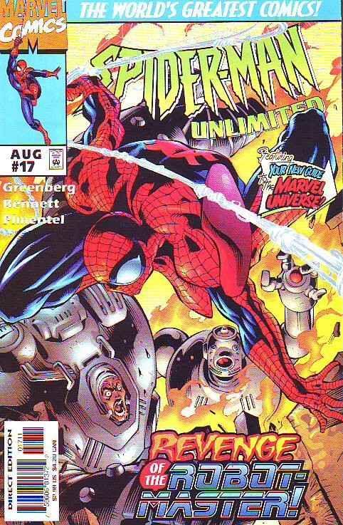 Spider-Man Unlimited #17 (Aug-97) NM+ Super-High-Grade Spider-Man