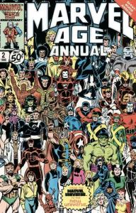Marvel Age Annual #2 FN; Marvel | save on shipping - details inside