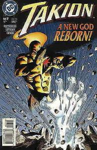 Takion #7 VF/NM; DC | save on shipping - details inside