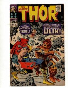 Mighty Thor # 137 VF Marvel Comic Book Odin Loki Asgard Enchantress Avengers BJ1