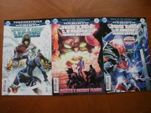 3 DC Universe Rebirth Comic: JUSTICE LEAGUE OF AMERICA #7 14 16 (2017) Orlando