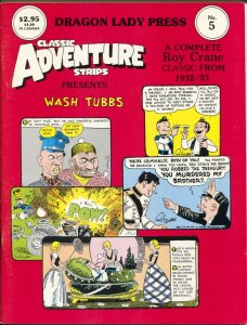 Classic Adventure Strips #5 1986-Wash Tubs 1932-1933-Roy Crane-comic strips-FN