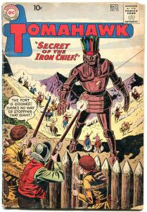 Tomahawk #70 1960- DC Silver age Western Comic- Robot cover VG-