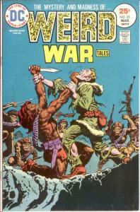 WEIRD WAR TALES (1972) 35 FINE March 1975 COMICS BOOK