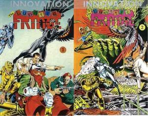 LUNATIC FRINGE (1989 IV) 1-2  COMPLETE!