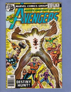 Avengers #176 FN Marvel Comics 1978