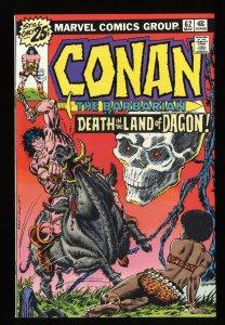 Conan The Barbarian #62 NM- 9.2 Marvel Comics