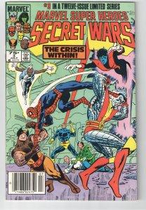 MARVEL SUPER HEROES SECRET WARS 3;1st APP.VOLCANA