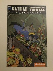 Batman Teenage Mutant Ninja Turtles 1 Variant Nm Near Mint Dc Idw