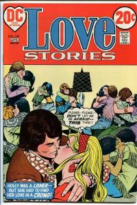 LOVE STORIES #149 1972-DC ROMANCE MAKE OUT PARTY-WILD FN
