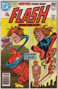 Flash   vol. 1   #296 VG Firestorm