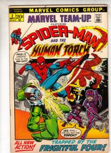 Marvel Team-Up #2 (May-72) VF+ High-Grade Spider-Man