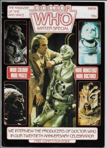 Doctor Who Winter Special Magazine (Marvel, 1983) FN