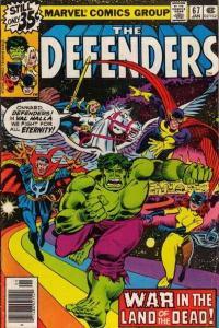 Defenders (1972 series) #67, VF+ (Stock photo)
