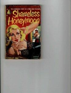 3 Books Shameless Honeymoon First Blood Shane JK17