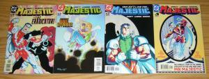 Majestic #1-4 VF/NM complete series - dan abnett - andy lanning - dc set lot 2 3