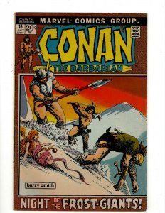 Conan The Barbarian #16 VF Marvel Comic Book Barry Smith Kull King Sword NP16