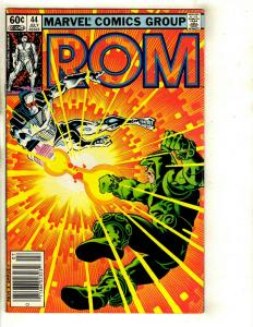 Lot of 8 Rom Marvel Comics # 44 45 46 47 48 50 51 Annual # 2 EK4