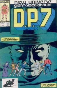 D.P.7 Annual #1 FN; Marvel | save on shipping - details inside