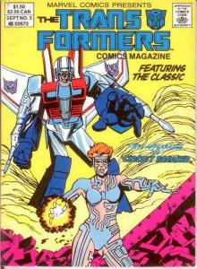 TRANSFORMERS  COMICS DIGEST (1987-1988) 5 VF-NM