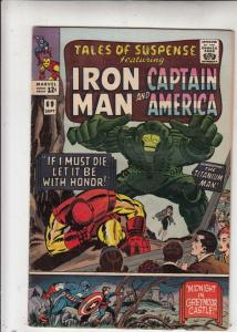 Tales of Suspense #69 (Sep-65) VF High-Grade Iron Man, Captain America, Bucky...