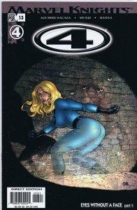 Marvel Knights 4 #13 ORIGINAL Vintage 2005 Marvel Comics GGA Invisible Woman