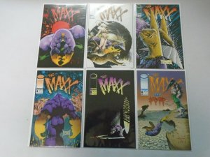 The Maxx Run: #1-5, #8 Near Mint (1993)
