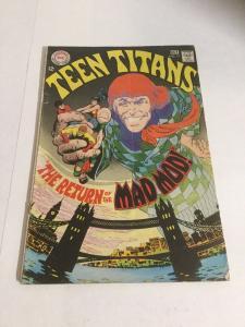 Teen Titans 17 Gd/Vg Good/Very Good 3.0 Bottom Staple Detached DC Silver Age