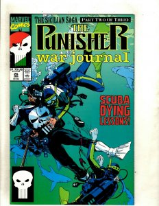 12 Punisher War Journal Marvel Comic Books #26 27 28 29 30 31 32 33 34 35 37 HJ9