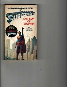 3 Books Superman Last Son of Krypton Fiction Illustrated Magnificent Seven JK19
