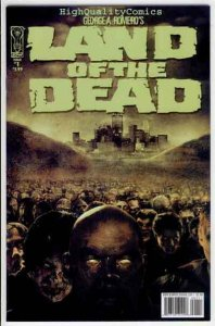 LAND of the DEAD #1, VF, George Romero,Undead, Zombies, more Horror in store, YM